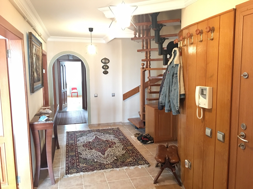 Partially Furnished Apartment for Rent in Birlik Mah, Ankara